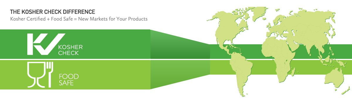 Kosher Certified + Food Safe = New Markets for Your Products
